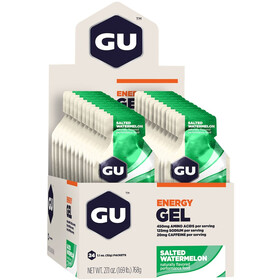 GU Energy Gel Box 24x32g Salted Watermelon